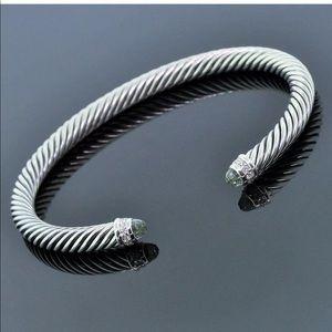 David Yurman Authentic Cable diamond bracelet